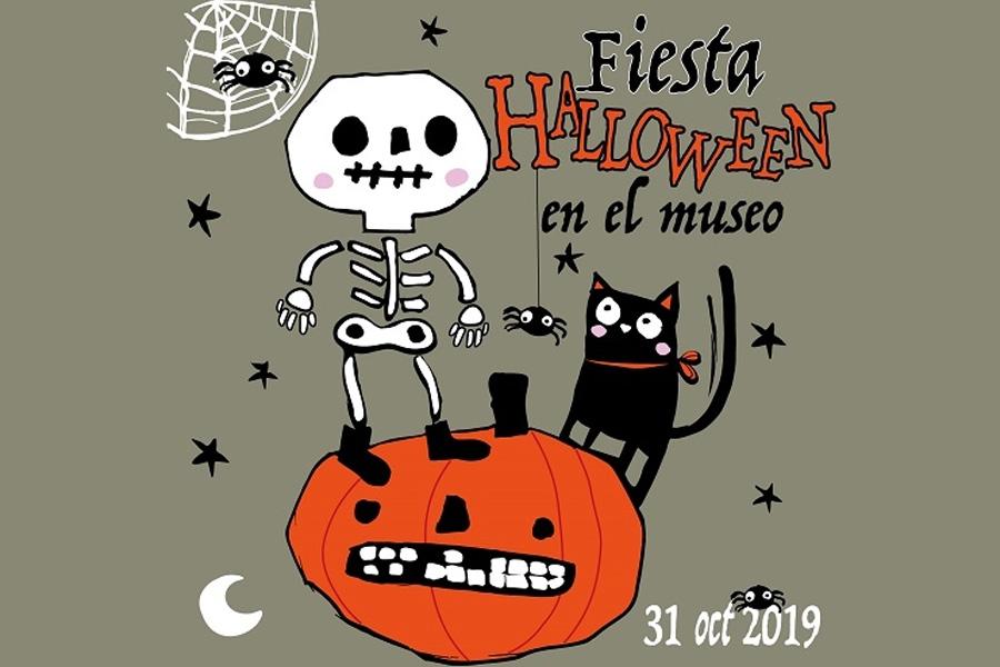 Fiesta Halloween en el museo 2019